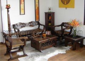 Muebles rsticos el campanario for Comedores amueblados